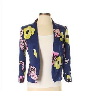 J. Crew Floral print blazer